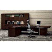 Design inovador Escritório moderno de madeira Escritório executivo de móveis de mesa (HF-LTA127)