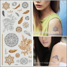 OEM Vente en gros de tatouages chauds tatouage temporaire tatouage corps design pour femme sexy V4624