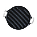Pre Seasoned Reversible Round Cast Iron Griddle