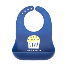 Custom Waterproof Comfortable Silicone Baby Bibs