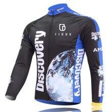 Homens Sportwear Ciclismo Jersey Bike Bicicleta manga comprida T