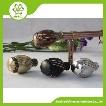 Made in China Hot Sale decorative rome curtain rods