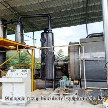 Waste Tyre Pyrolysis Oil Process Batch Reactor