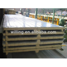 color steel pu sandwich panel for wall and roof /pu sandwich panel for roof / insulated pu sandwich panel