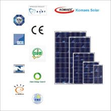Panel solar fotovoltaico 95W con certificado IEC Mcs Inmetro Idcol Soncap