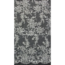 China wholesale High Quality Border floral bridal lace for wedding dress CAC362