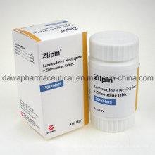 OEM aceitável anti-HIV da tabuleta de Lamivudina 3tc + Viramune + Zidovudinum