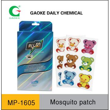 Remiendo repelente de mosquitos para niños