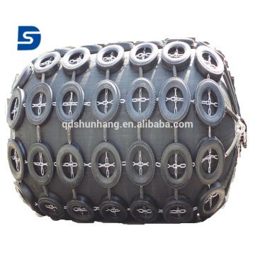 Pára-choque de borracha pneumático certificado BV para a proteção de atracação do navio