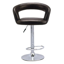 Black pu leather barstool with metal base XYH2005