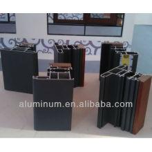 thermal break wood aluminum profiles for doors and windows