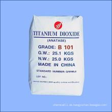 Chemisches Rohmaterial Titandioxid für die allgemeine Industrie Anatase B101