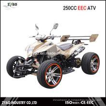 250cc CEE Racing Quad com 14 polegadas de liga de roda refrigerado a água do motor