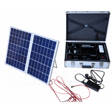 Portable complete solar power generators energy system 500W for home