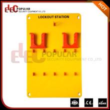 Elecpopular Buena Insulatividad Amarillo 10 Candados portátiles Safety Lockout Tagout Station