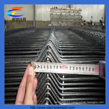 Anping Hot Sales PVC Coated Triangle Bends Fencing Factory