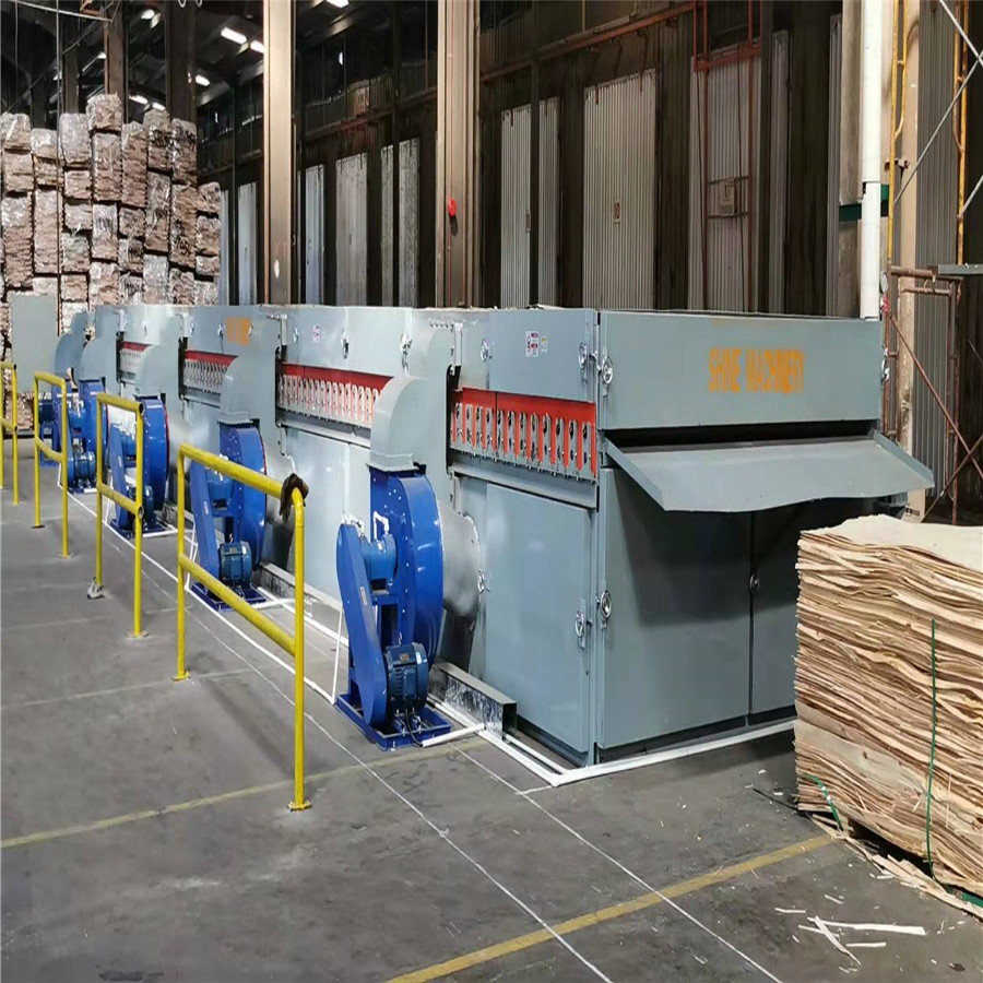 20m 1deck Veneer Drying Machine