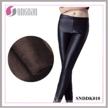 2015 Winter Warm Faked Leather Plus Size Thickening Fleece Leggings
