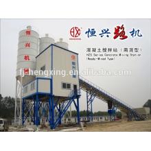 HZS75 Betão Equipamento para Mistura de Concreto