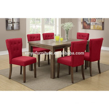 American village style wooden dining room set XYN1478