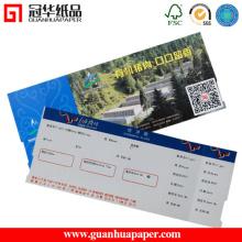 Caixa registradora Tipo de papel Bilhete de evento térmico