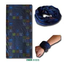 Bandana mágica feita malha sem emenda Multifunctional do esporte do poliéster de Microfiber (YKY1006-6)