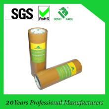 Низкий уровень шума коричневая лента упаковки bopp