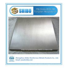 Pfofessional Fabricant Pure plaque de tungstène avec la meilleure qualité