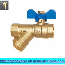 Brass Ball Valve with Y Strainer (a. 0134)