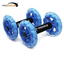 Exercise Equipment Two Wheels Abdominal Wheel