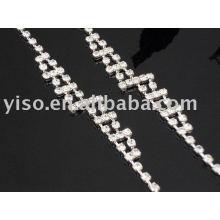 Bracelet en strass en cristal