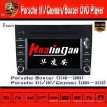 Auto DVD Spieler für Porsche Cayman / Boxter Radio Navigation Hualingan