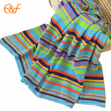 Kids Plain Cobertura de arco-íris orgânico colorido e algodão