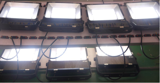 50W flood light aging