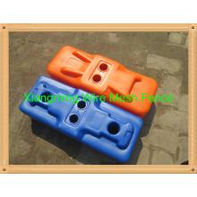 Pieds de clôture temporaires en PVC