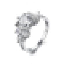 Damenmode Simple Super Flash Kristall Ring