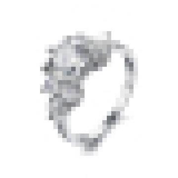 Mode féminine Simple Super Flash Crystal Ring