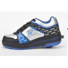 Fashion Roller Shoe for Female Male, Cheap Price Roller Shoes with Retractable Wheels, Leather Shoe Skate Roller Sport