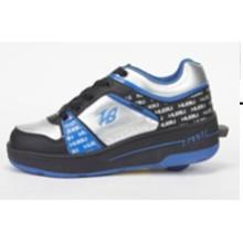 Мода Роллер обуви для женщин мужчин, дешевые цены Роликовые туфли с выдвижными колесами, кожаная обувь Skate Roller Sport