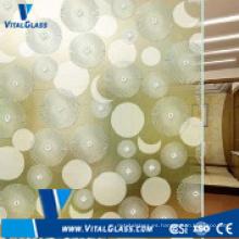 4-6mm horno de vidrio de arte formado para la decoración