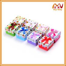 Caixa de colar personalizado de alta qualidade, caixas de anel, caixas de presente feitas sob medida