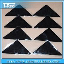 Durable extraíble Sin rastro 100% PU gel antideslizante alfombra de agarre