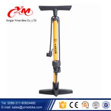 Yimei promocional venda mini moto bomba / logotipo personalizado e bomba de ciclo de cor / melhor qualidade e preço da bomba da bicicleta com medidor