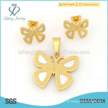 A melhor jóia ajusta a loja para a borboleta de aço 316l projeta a venda quente