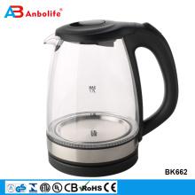 Anbolife 2018, новинка, 1,7 л, электрический стеклянный чайник со свистком, долго сохраняет тепло, с нагревательным элементом