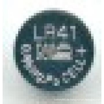 1.5V 31mAh Alkali Lr41 L736 AG3 Knopfzelle