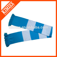 Custom knit long acrylic scarf