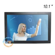 Haute résolution 1280X800 10 pouces tft avec panneau tactile capacitif avec port USB DVI VGA HDMI