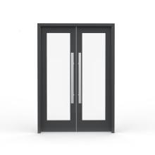 Puertas de resorte de aluminio de hotel de vidrio doble reflectante
