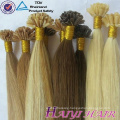Wholesale Alibaba Chinese Supplier Cuticle Aligned Virgin Hair U Tip Hair Extension